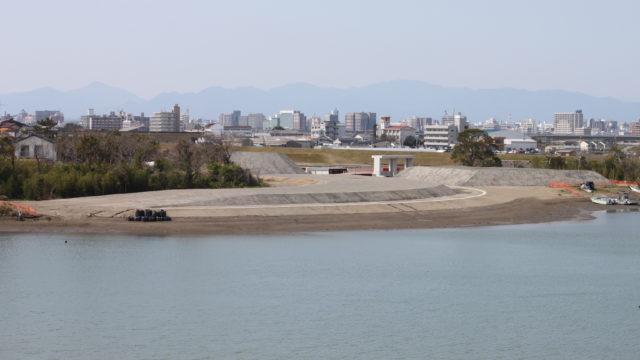 赤江北地区堤防基礎外工事