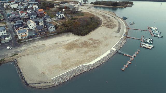 赤江西地区堤防基礎外工事